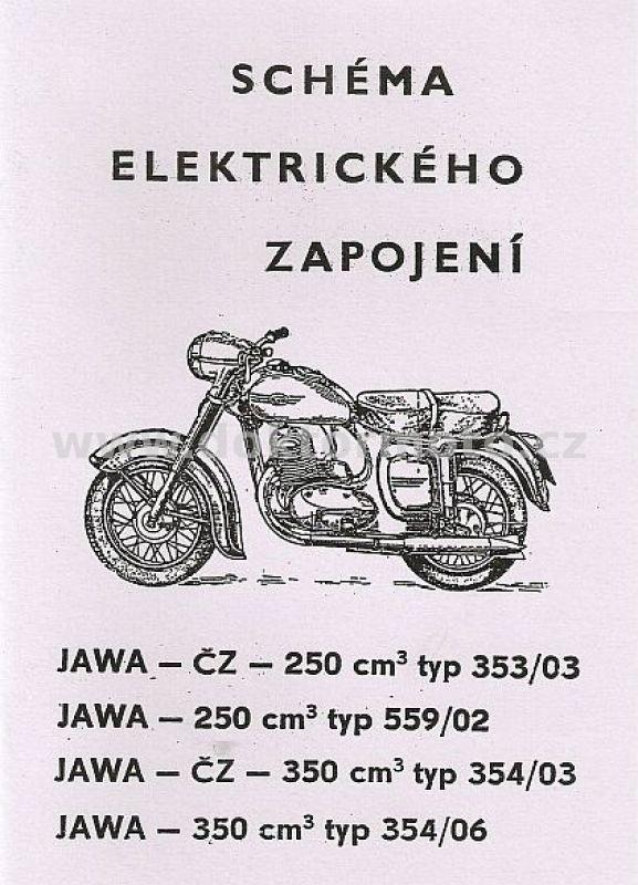 Schema Elektro Jawa 250 350